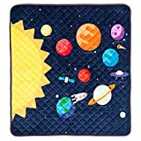 HIDEABOO Playmat for Baby and Kids 34 x 33 Inches - Floor Mat with Play Scene