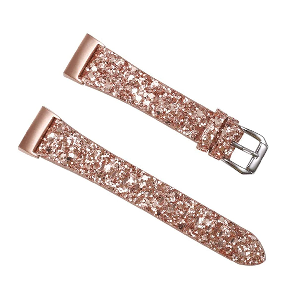 Startview Shinning Bracelet Smart Watch Replacement Band Strap Wrist Strap for Fitbit Charge 3