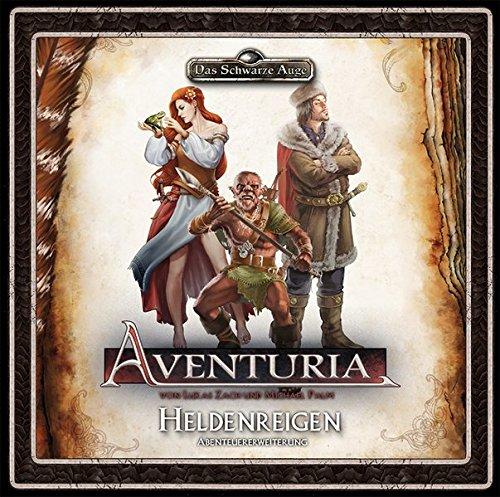 Aventuria - Abenteuererweiterung Heldenreigen (Aventuria / Abenteuerspiel)