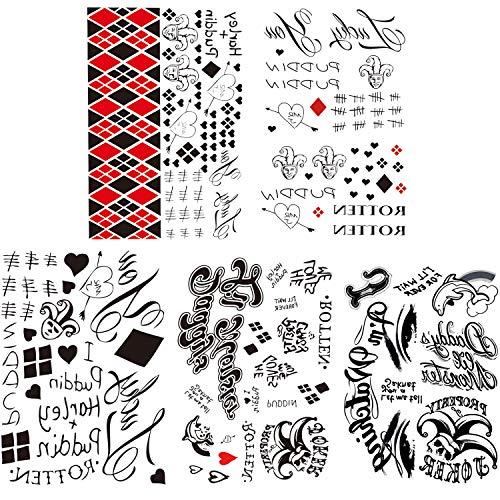 61MyfNSO2fL Harley Quinn Tattoos