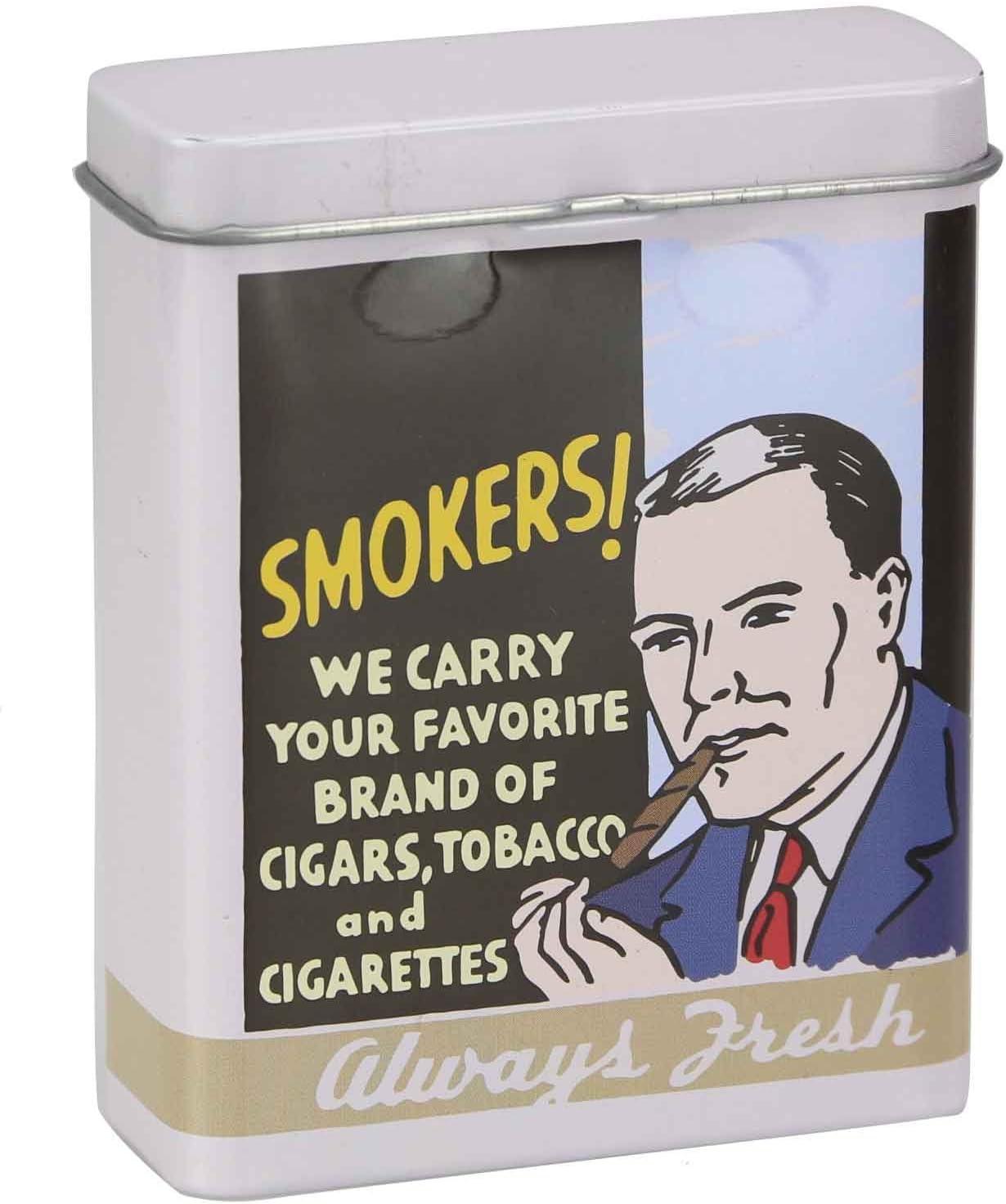 Jeanshose - 2 Caripe Zigarettenbox 20 Zigaretten Zigarettendose Metall Zigarettenetui Retro Vintage Motiv Damen Herren Hardcase Box