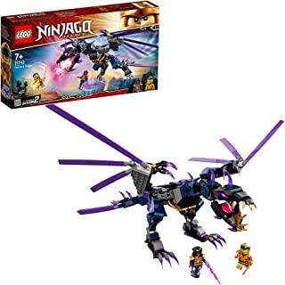 LEGO 71742 NINJAGO Legacy Overlord Dragon Toy and Collectible Gold Ninja Lloyd Figure
