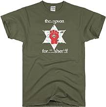 DirtyRagz Men's Hunter S. Thompson Sheriff Gonzo T Shirt