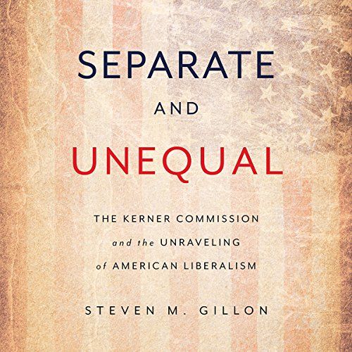 Separate and Unequal audiobook cover art