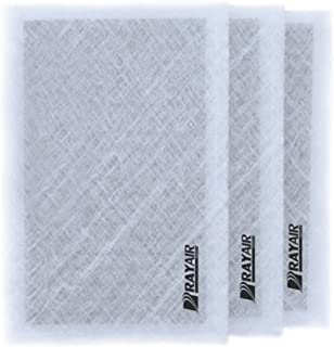 RAYAIR SUPPLY 24x30 Air Ranger Replacement Filter Pads 24x30 (3 Pack) White