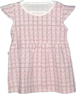 فستان صيفي للفتيات بدون أكمام طباعة كاجوال من 9شهور -4 سنوات