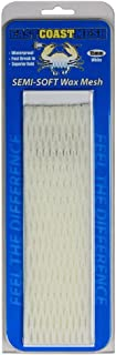 East Coast Dyes Wax Lacrosse Mesh 15mm Semi-Soft Wax Field Mesh Solid Color