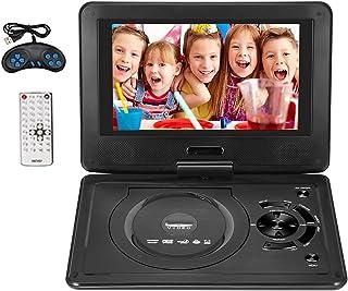 """9.8""""draagbare dvd-speler Sucastle 270° draaibaar scherm Oplaadbare digitale multimediaspeler voor auto's TV DVD-game Outdo..."""