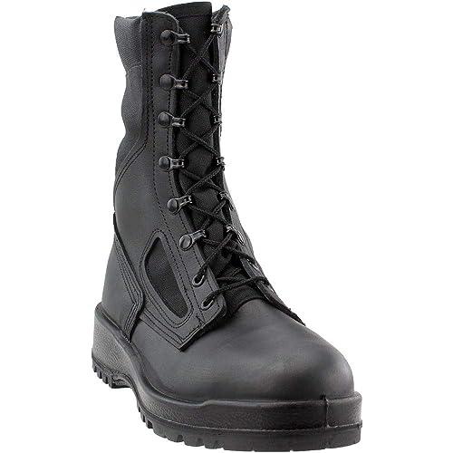 c136002cc0a Belleville 300TROPST Hot Weather Steel Toe Combat Boot, Black