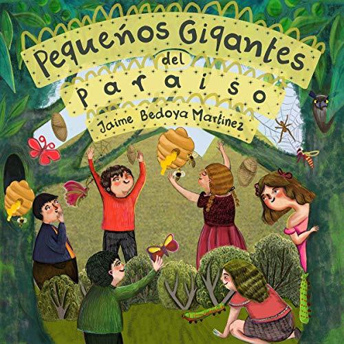Diseño de la portada del título Pequeños Gigantes Del Paraíso
