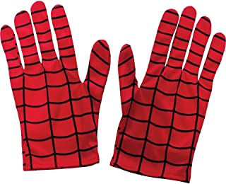 Men's Marvel Universe Adult Spider-man Gloves, Multi, One Size
