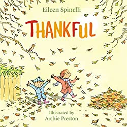 Thanksgiving book for kids to learn gratitude