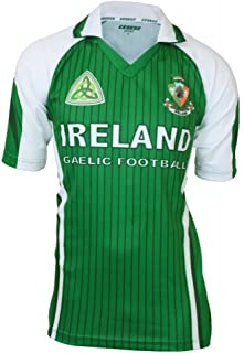 Ireland Sublimated Soccer/Football Jersey Green & White