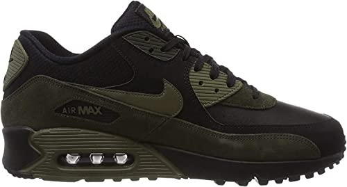 Nike Air Max 90 Leather, Sneakers Basses Homme : Amazon.fr ...