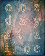 CafePress One Day at A Time Abstract Vintage Art Posters 16