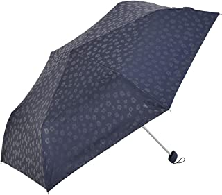 Nifty Colors(ニフティカラーズ) 折りたたみ傘 遮光アニマルフラットミニ ネイビー