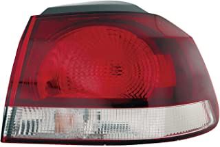 Depo 341-1930R-US Volkswagen Golf/GTI Passenger Side Outer Tail Lamp Assembly with Bulb and Socket
