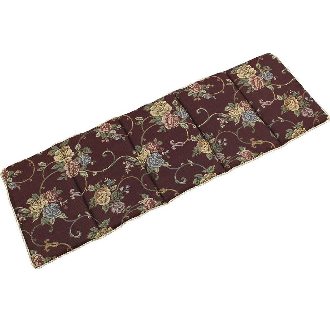 チューリップ服を洗う忠実なイケヒコ?コーポレーション クッション ブラウン サイズ:約43×130cm