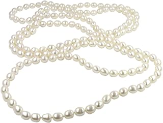f0001b99d7820 Amazon.com: 30 Inches Or More - Pearl Strands / Necklaces: Clothing ...