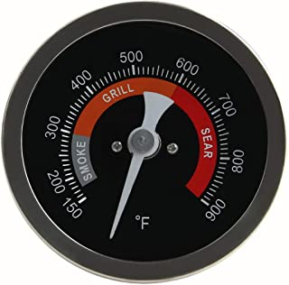 """Grill Temperature Gauge For Big Green Egg 150-900°F Waterproof 3 1/4"""" Large Face Stainless Steel Cooking Thermometer For Barbecue Charcoal Grill Big Green Egg Thermometer Replacement Accessories Tool"""