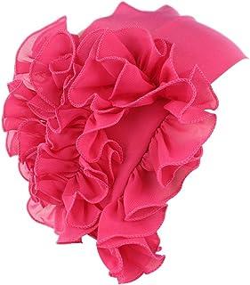 TWGONE Womens Wrap Cap Flower Chemo Hat Beanie Scarf Turban Headband