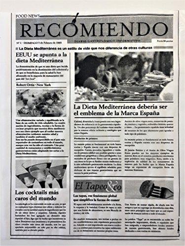 GRUPOHORECA DISTRIBUCION CANAL HORECA Papel Periódico Alimentario 25X31 Antigrasa - 500 Unidades Mod.- Recomiendo