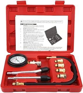 Cylinder Pressure Gauge, Fydun Cylinder Pressure Gauge Engine Cylinder Compressor Pressure Tester 8Pcs G326 Petrol Gas Gauge Test