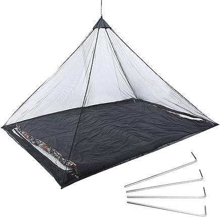 Lit Double,Int/éRieur Et Ext/éRieur LIJIE Moustiquaire,Portable De Voyage Moustiquaire Pliable Tente Camping Mosquito Rideau Anti-Moustique,Lit Simple
