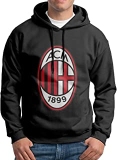 SuperFF Men's AC Milan Hooded Sweatshirt