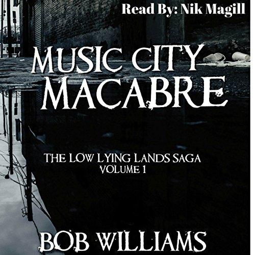 Music City Macabre audiobook cover art