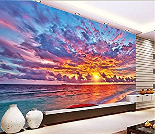 3D Beautiful Sunset Sky 531 Wall Paper Wall Print Decal Wall Deco Indoor wall Murals Removable Wall Mural | Self-adhesive Large Wallpaper , AJ WALLPAPER Carly (39