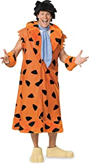 The Flintstones, Fred Flintstone, Adult Plus Size Costume With Wig And Shoe Covers