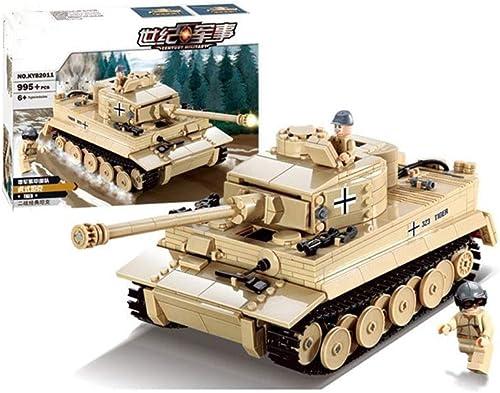 19  11,5  10cm   Military Tiger King Panzerkanone 995 Stücke Bausteine  ets Soldaten Figuren Bricks Lernspielzeug DIY Kinder Und Erwachsene Geburtstag Weißachten Sammlung Geschenke