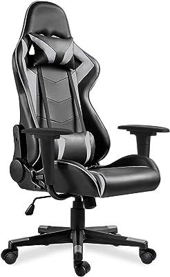 Merax Gaming Chair, Grey