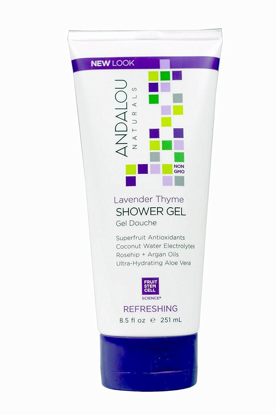 騒乱傀儡農業Andalou Naturals Shower Gel - Lavender Thyme Refreshing - 8.5 fl oz by Andalou Naturals