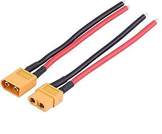 Siliconen omhulsel XT60 vrouwelijke kabel, XT60-adapterkabel, voor krachtige toepassingen De meeste oplaadinstellingen