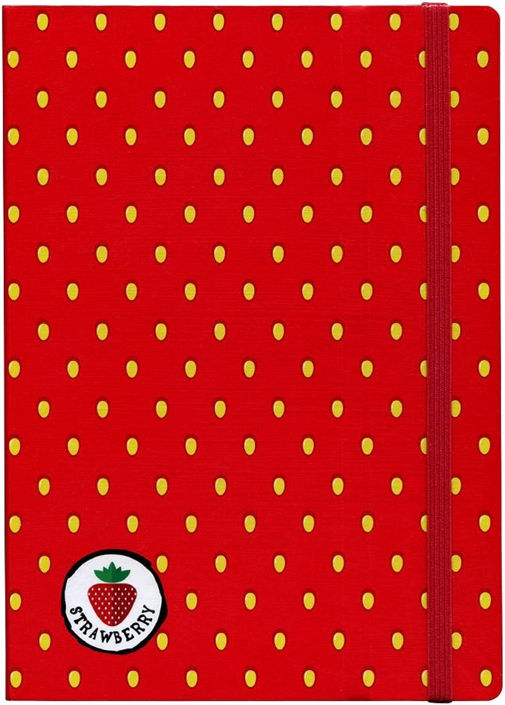 Stifflexible Strawberry Notebook, 6 X 8.25, 8.25, 8.25, Pages, 85gsm Natural Weiß Paper (076L) B07C661P4F  | Haltbarer Service  77c92d