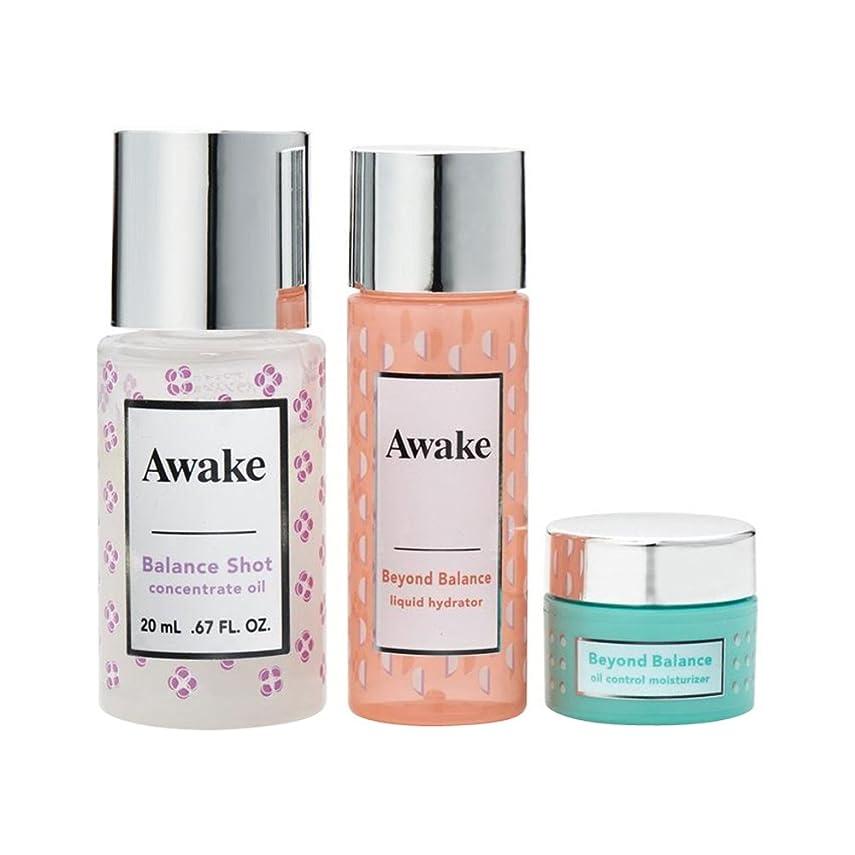 遊びます意味のある制限アウェイク(AWAKE) Awake(アウェイク) スキンアウェイキング バランスショット コンセントレイトオイル キット 〈美容オイル?化粧水?クリーム〉 (1セット)