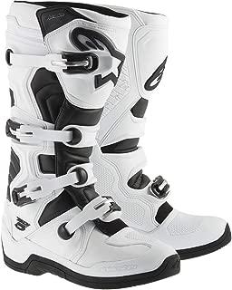 Alpinestars Tech 5 Men's Off-Road Motorcycle Boots - White/Black / 10