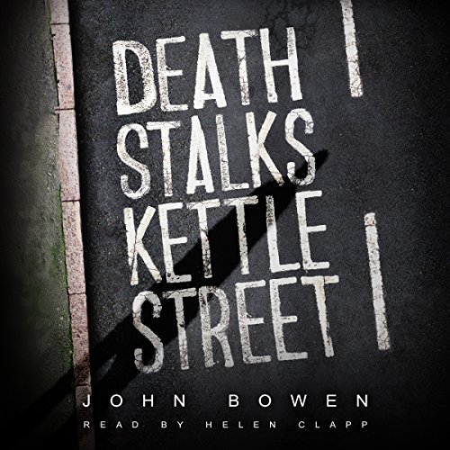 Death Stalks Kettle Street audiobook cover art