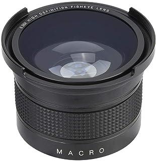 0.35X 52 mm Lente Ojo de Pez Gran Angular con Tapa de Lente Bolsa de Almacenamiento Universal para Canon/para Nikon/para Sony/para Pansonic/para Olympus SLR DSLR Cámaras