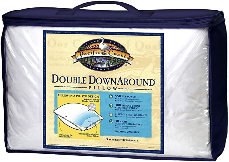 Pacific Coast Double Down Around Set 2 Pillows Queen