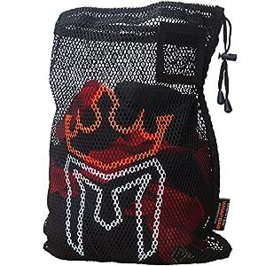 Fashion Shopping Meister WRAP Bag for Washing MMA & Boxing Hand Wraps – Drawstring Mesh Large