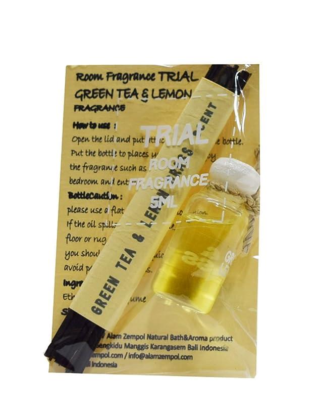 筋肉の安定しましたラフトRoom fragrance ルームフレグランス 5ml trial alam zenpol アラムセンポール BALI (GREEN TEA&LEMON GRASS)
