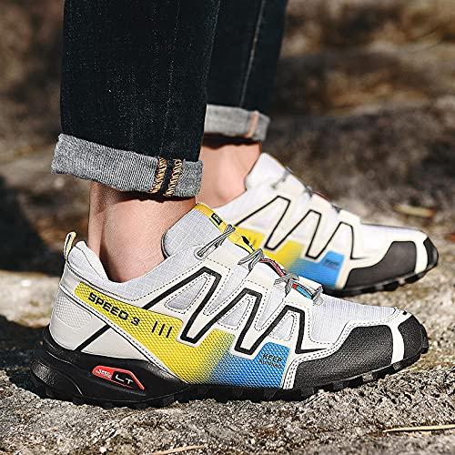 Zapatos de Piscina,Zapatos de montañismo Calzado de Hombre Calzado Deportivo Calzado de Viaje Casual-8_39#,Botas de Deportes acuáticos