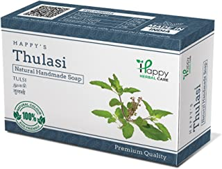 Happy Herbal Care Thulasi Natural Soap 75G