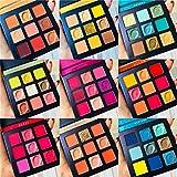 Beauty Glazed 9 colores brillo diamante sombra de ojos maqui