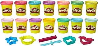 Play-Doh - Couleur Pack Brille et Scintille, B6380
