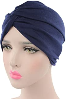 Chemo Sleep Turban Headwear Scarf Beanie Cap Hat for Cancer Patient Hair Loss