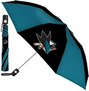 San Jose Sharks Automatic Umbrella 42 Inches